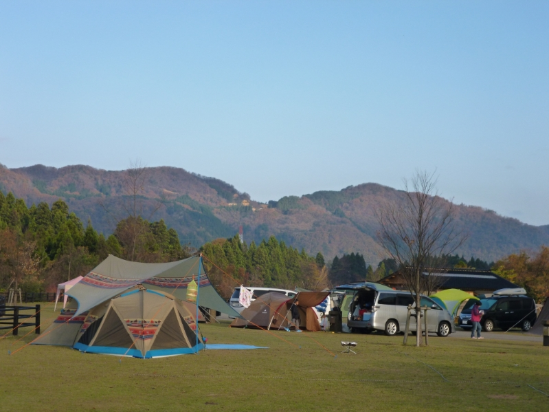 白山ろくテーマパーク吉野キャンプ場