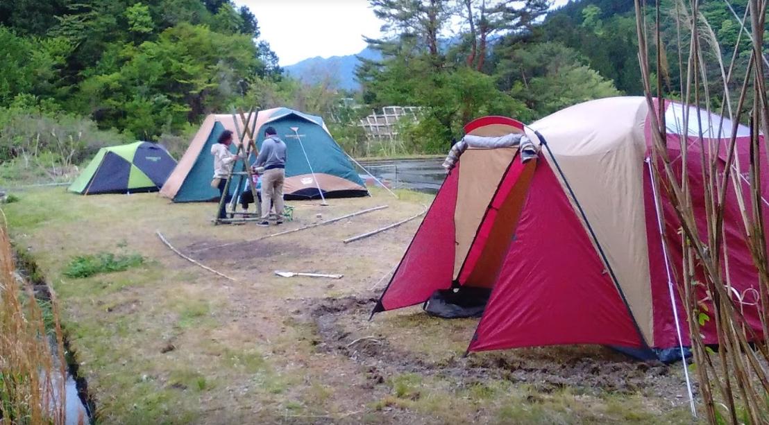 付知峡キャンプ場 さんけい広場