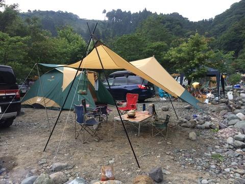 音久和キャンプ場