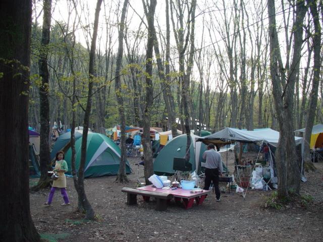 とんとん山 キャンプ場