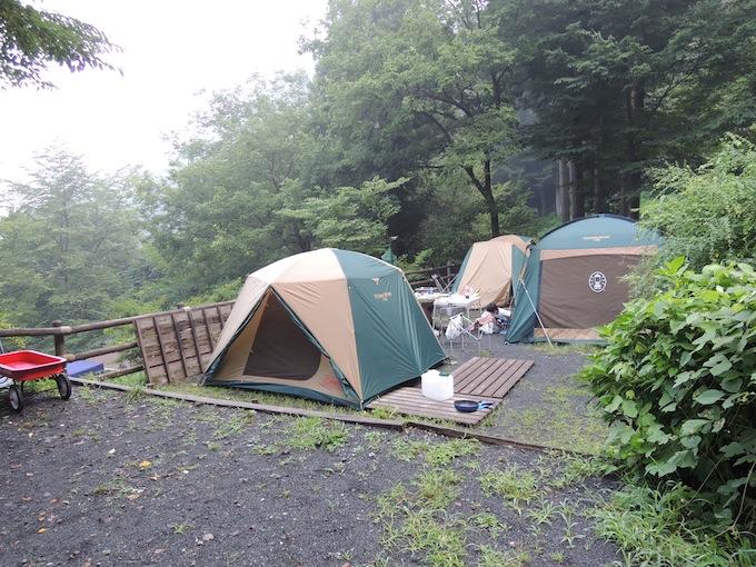 奥多摩湖畔公園山のふるさと村キャンプ場