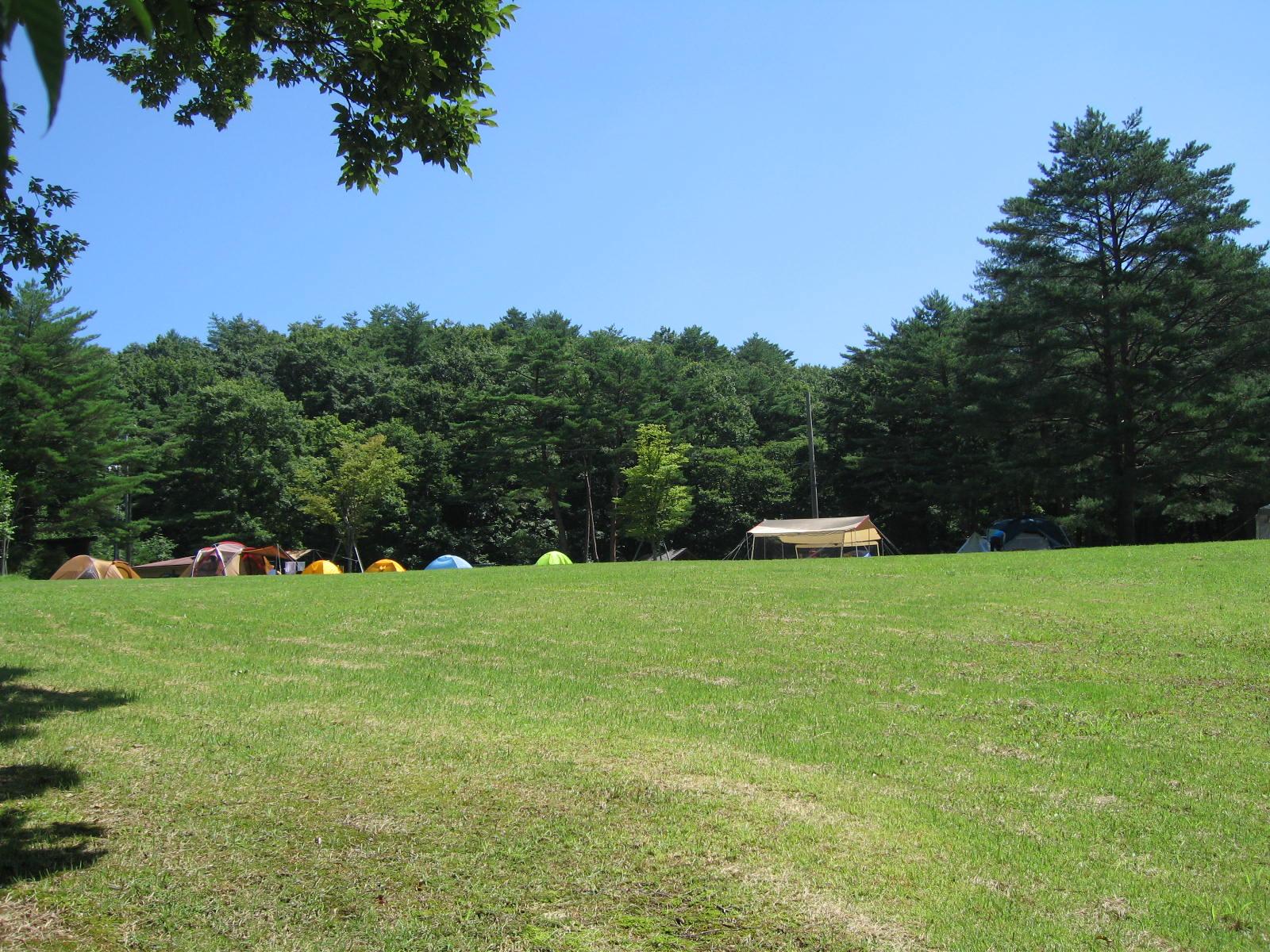 西中国山地国定公園聖湖キャンプ場