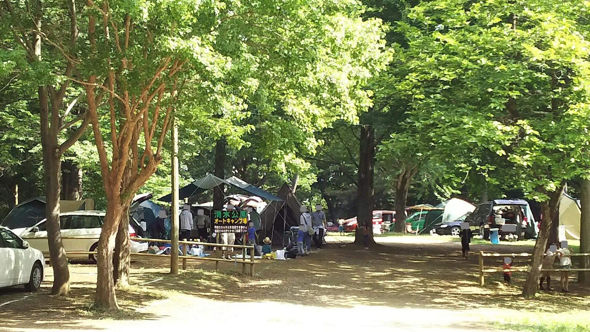 清水公園 キャンプ場