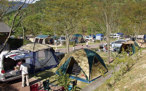 日時計の丘公園オートキャンプ場