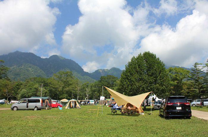 長野市戸隠キャンプ場