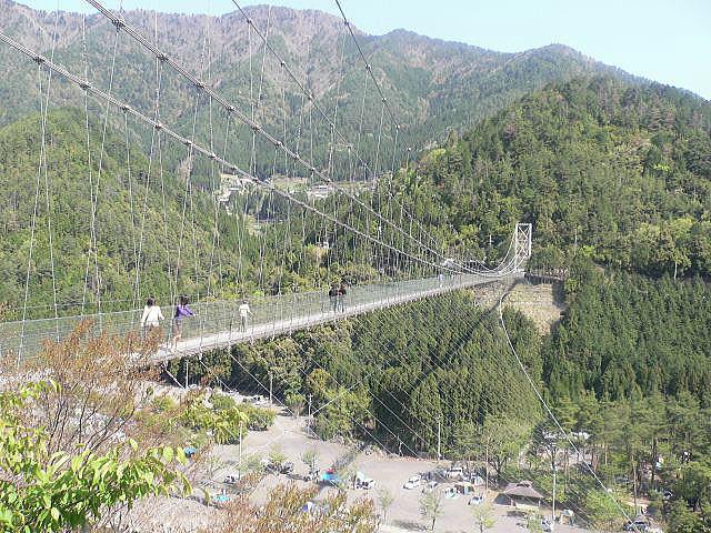 谷瀬つり橋オートキャンプ場